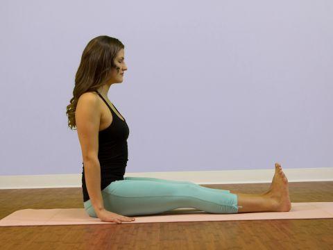 staff pose dandasana seated yoga poses  seated yoga