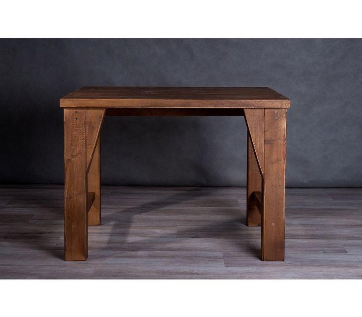 Locust rusztikus minimalist étkezőasztal vagy íróasztal.