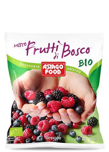 La selezione di frutti di bosco Bio Asiago Food ti offre tutta la bontà e il sapore autentico della frutta migliore proveniente dal bosco e da coltivazione biologica. Senza conservanti, coloranti o zuccheri aggiunti. Raccolti al giusto punto di maturazione, subito surgelati e confezionati per mantenere intatti il sapore ed il delicato profumo del prodotto appena colto.