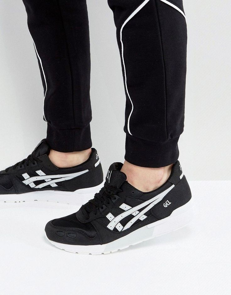 ASICS GEL-LYTE SNEAKERS IN BLACK HY7F3 9096 - BLACK. #asics #shoes #