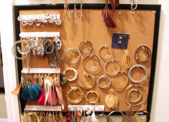 Jewelry organization 04: Clean Organizations, Organizations Ideas, Organizations Storage, Organizations 04 Repin, 04 Repin By Pinterest, Closet Ideas, Jewerly Organizations, Jewelry Organizations 3, Organizations Diy