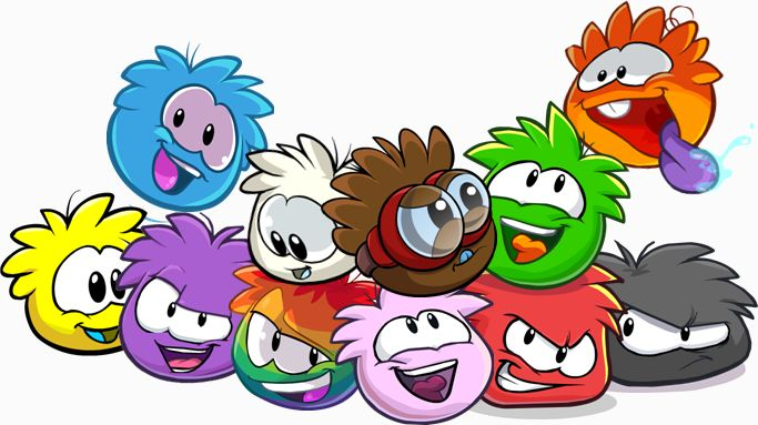 Images of All Puffles Club Penguin   rainbow puffle now is the time for all puffles theres will also be ...