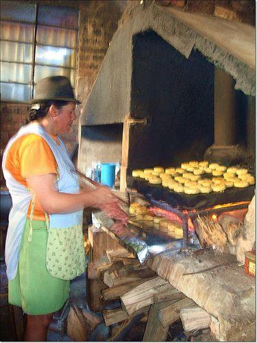Las arepas de Ramiriquí Boyacá Colombia