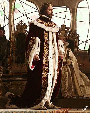 King Oleron in full length: very majestic!