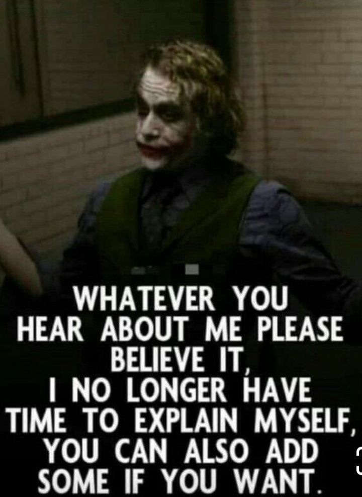 this is the only reason i love this guy joker fanz here humor