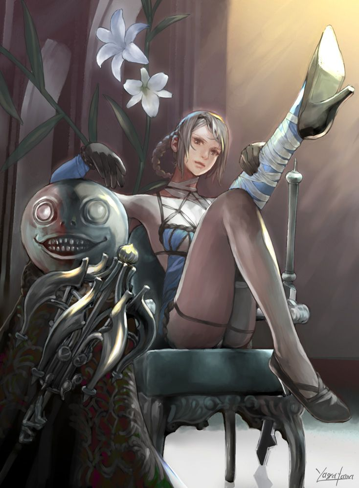 40 Best images about Nier on Pinterest   White hair, Sisters and Daughters