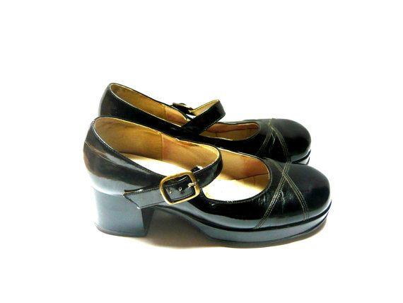 17 meilleures id es propos de ann es 70 chaussures sur. Black Bedroom Furniture Sets. Home Design Ideas