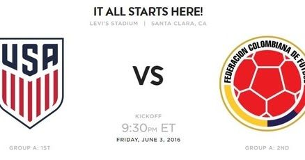 New post on my blog: USA vs Colombia 2016 Copa America Match 1 Live streaming Prediction Highlights info http://ift.tt/1TZDdRX #copa100 #copa2016 #ca2016 #copaamerica #centenario #football #soccer #usa USA vs Colombia 2016 Copa America Match 1 Live streaming Prediction Highlights info - Copa...