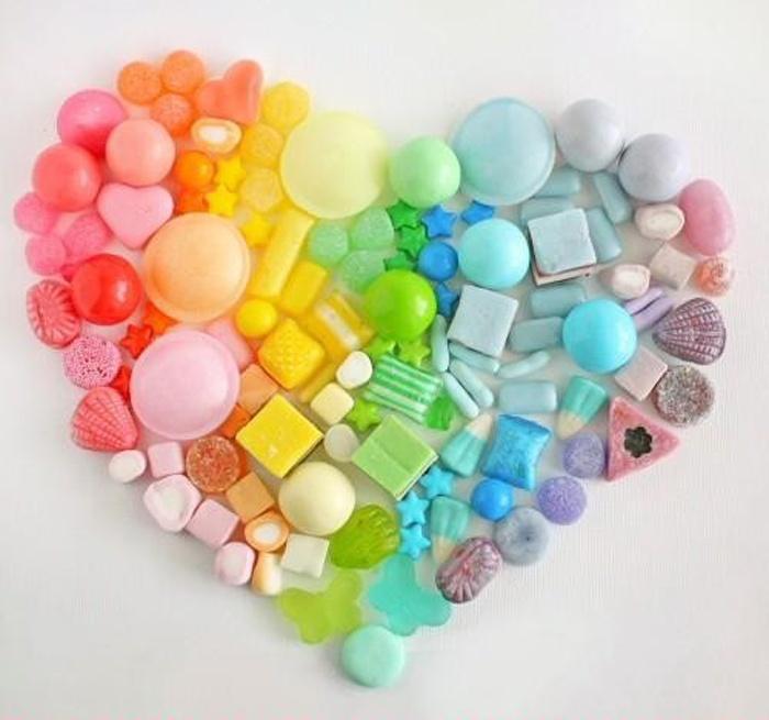 Un coeur de bonbon