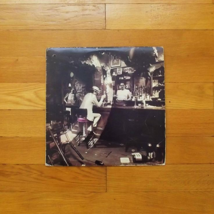 One of my favorit vinyl records # Led Zeppelin - In Trought the Out Door