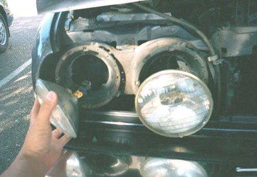 BMW e30 Hella Headlight Upgrade