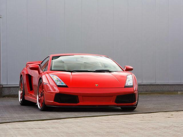 Foto Mobil Keren Gallardo Lamborghini 2007 Imsa GTV Red
