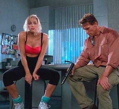 Lori Quaid & Douglas Quaid / Hauser - Sharon Stone & Arnold Schwarzenegger  - Total Recall 1990
