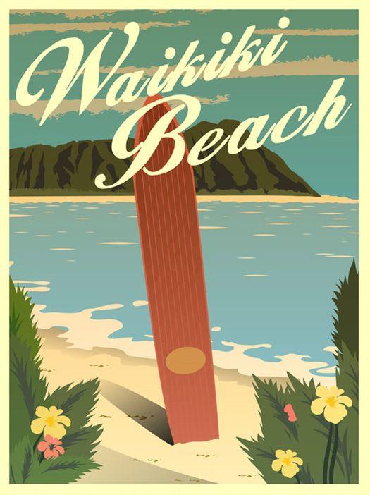 이번 포스터를 생각하면서 하와이나 열대지방과 가장 가깝고 비슷하게 분위기를 내고 싶은데 이 포스터와 같이 전체적인 노란톤이 더운 열대의 느낌을 줄 수 있는것 같다