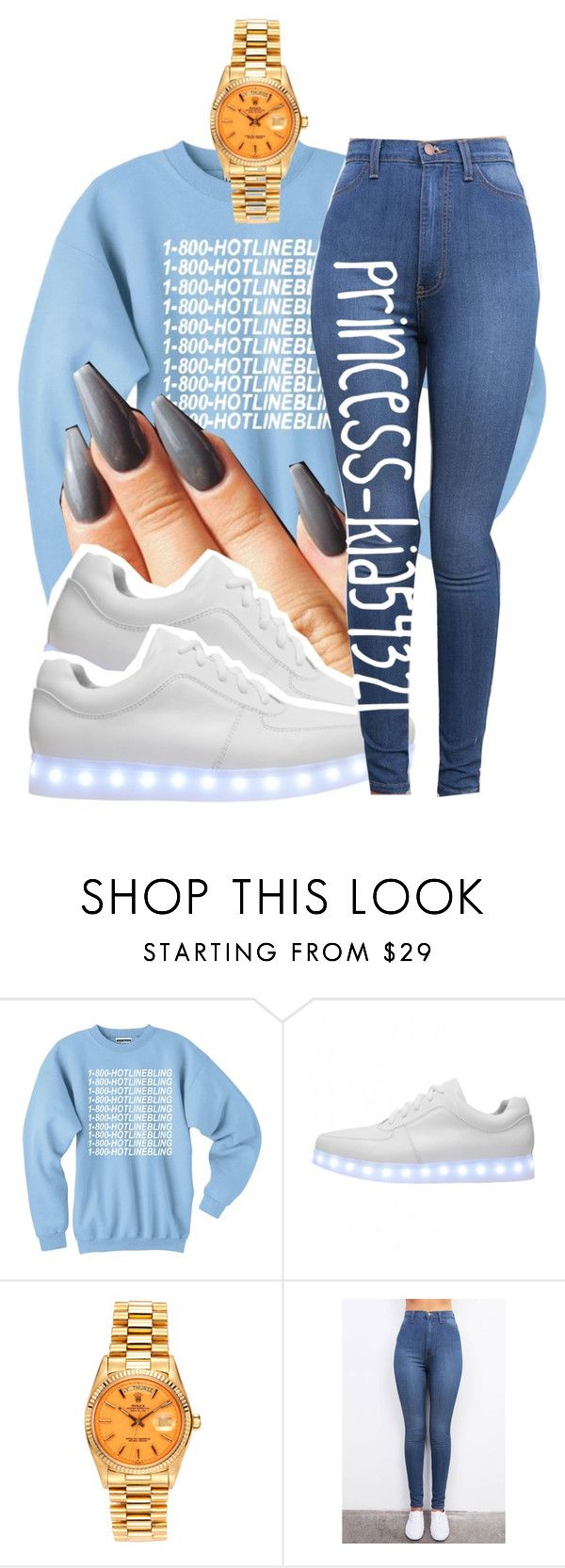 """*"" by princess-kia54321 ❤ liked on Polyvore featuring Irregular Choice and Rolex"