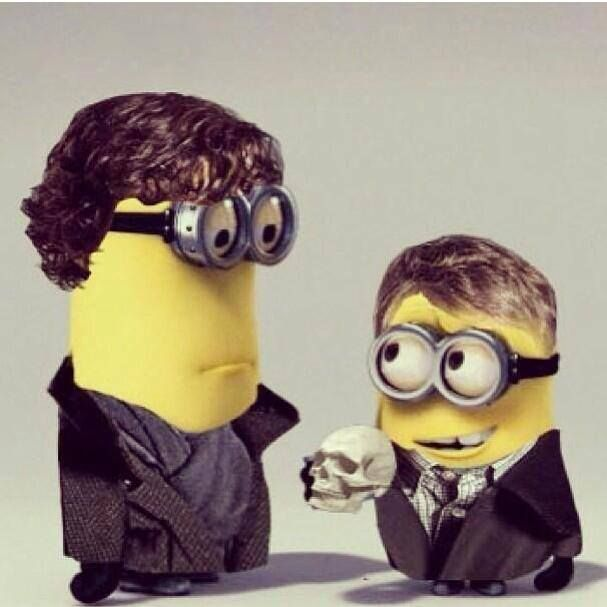 Sherlock Minions #DespicableMe2 #minions #BBCSherlock