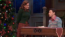 Holiday Inn - Linda (Lora Lee Gayer) and Jim (Bryce Pinkham) - White Christmas Duet
