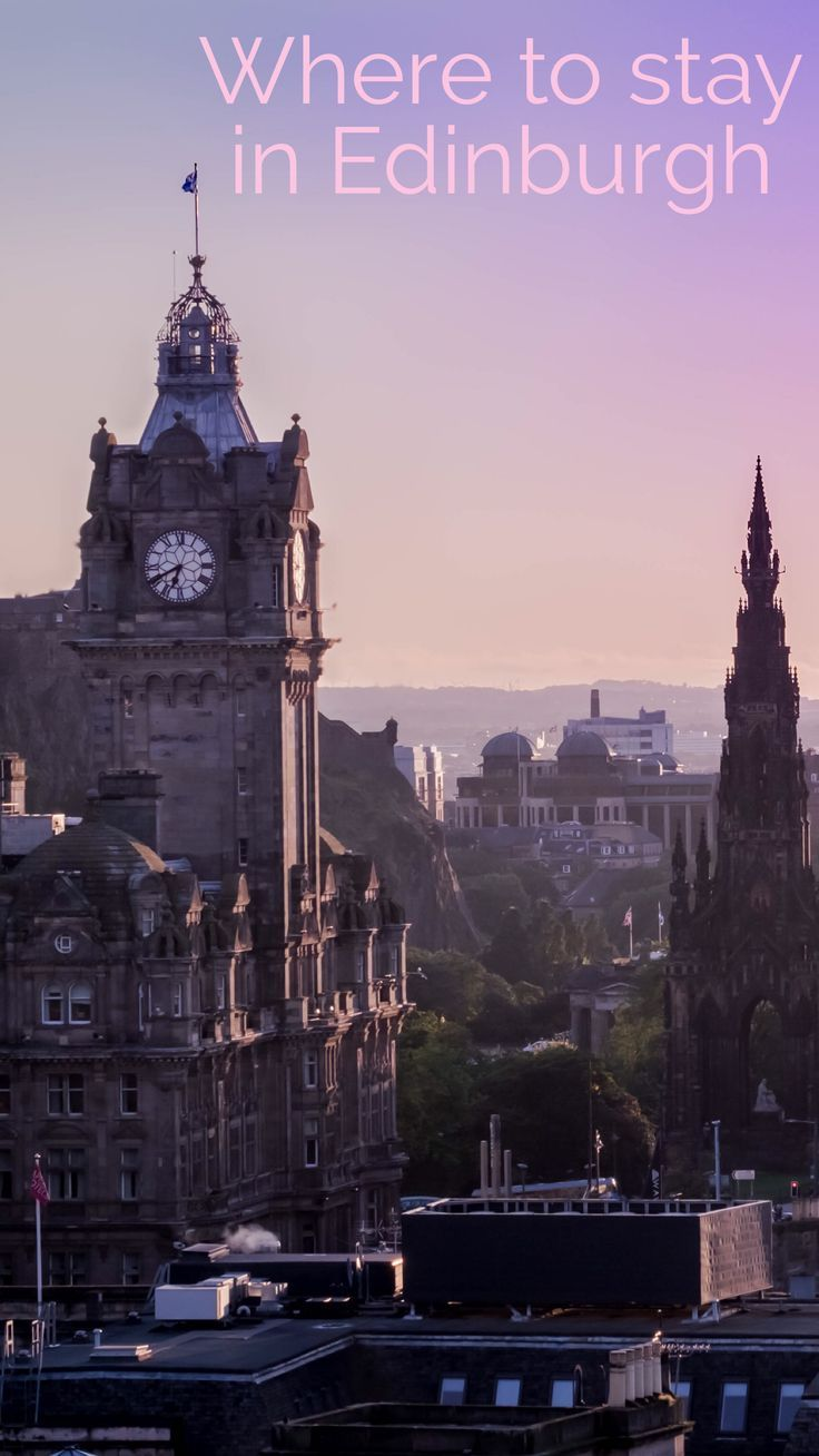 Looking for the perfect place to staying Scotland's capital? There are plenty of great places to stay in Edinburgh!