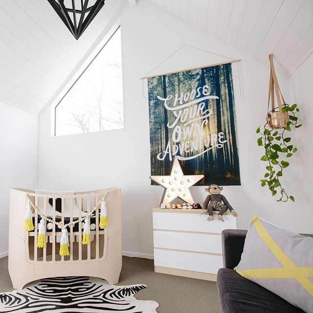 Modern Nursery Ideas: 735 Best Images About Modern Baby Nursery On Pinterest