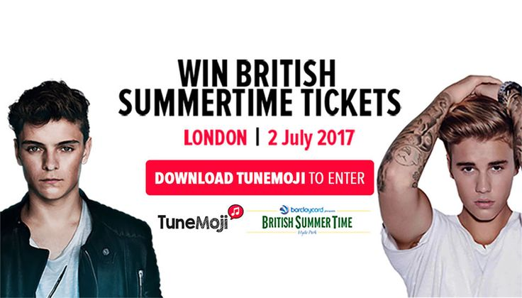 This is a competition for free tickets to go to wireless festival and see Justin bieber