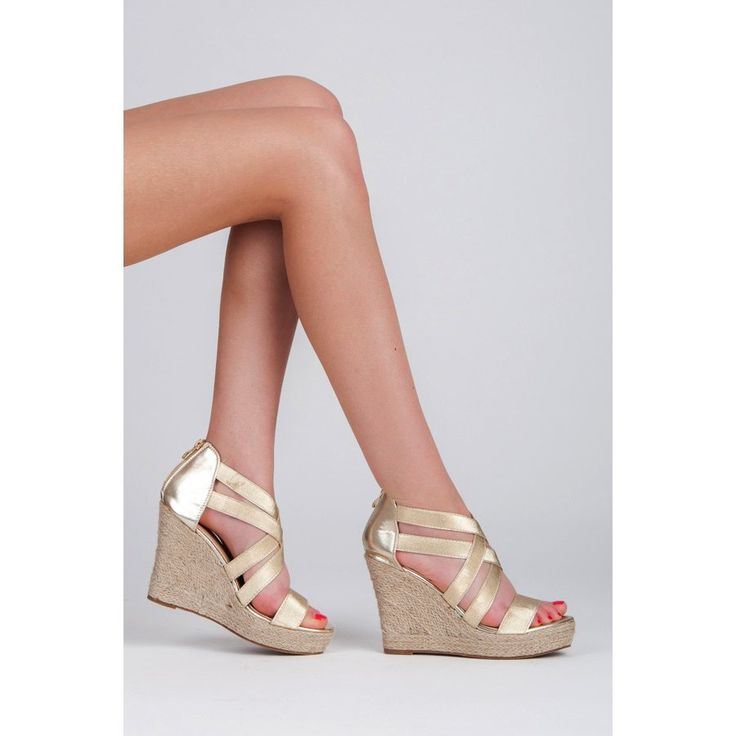 Metalické sandále 2017-37GO