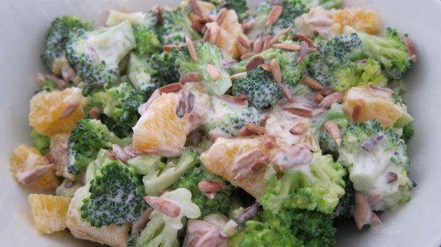 broccoli appelsinsalat