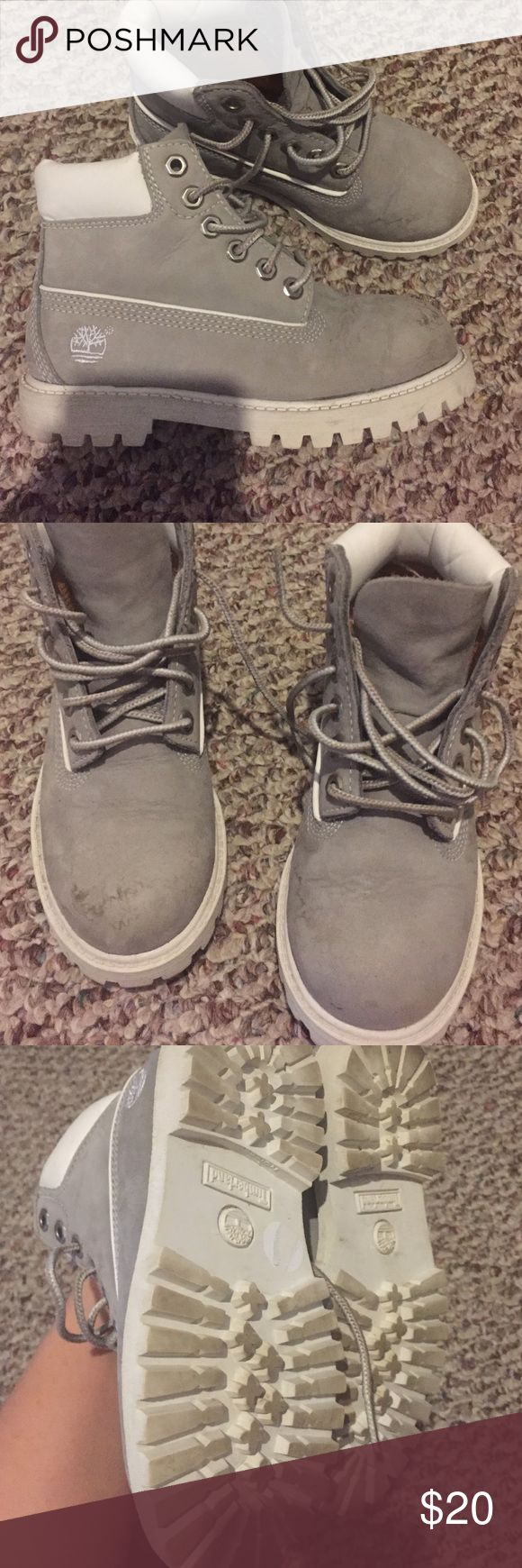 Toddler Timberland Boots 11.5 Good conditions with marks as shown in picture. Barely worn. Size 11.5 Timberland Shoes Boots