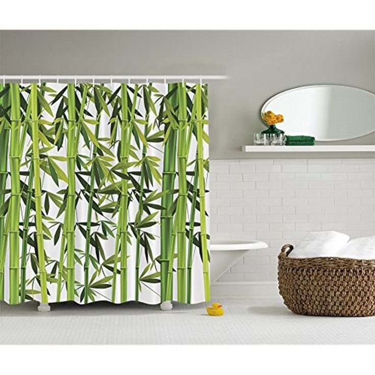 31 best Bamboo Shower Curtain images on Pinterest | Bathroom ...
