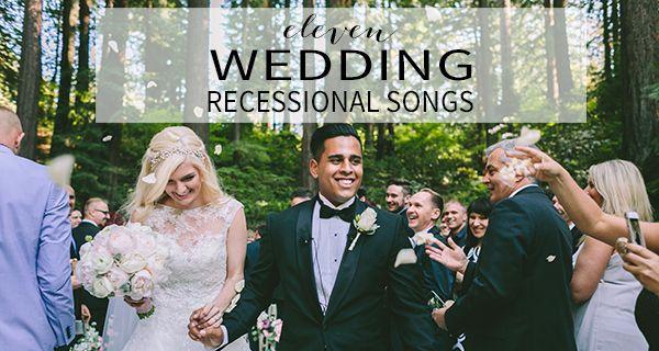 wedding ceremony recessional songs!