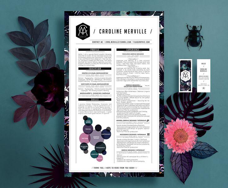 Více než 25 nejlepších nápadů na Pinterestu na téma Resume design - best creative resumes