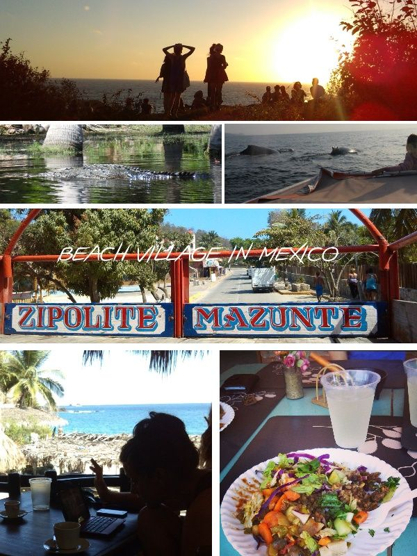 Travel tips for my favorite place on the Pacific coast in Mexico. Mazunte is not far along the coast from Puerto Escondido and next major town is Pochutla, from there you can easily reach it by collectivo and taxi. The village Mazunte is long stretched along a road that leads to San Augustinillo and Zipolite. From this road a few small ones go down to the beach, where most of the life takes place in the village.
