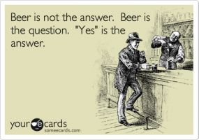 Beer Trivia, great for a party