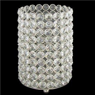 7 crystal gem pillar candle holder shop hobby lobby