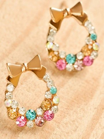 Multi Bow Earrings by Odyssey