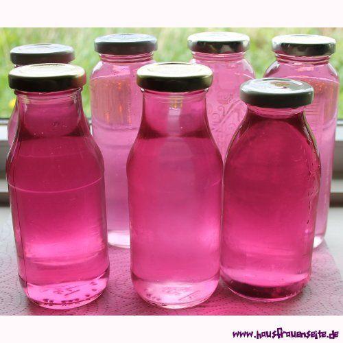 Veilchen-Sirup - Rezept mit Bild