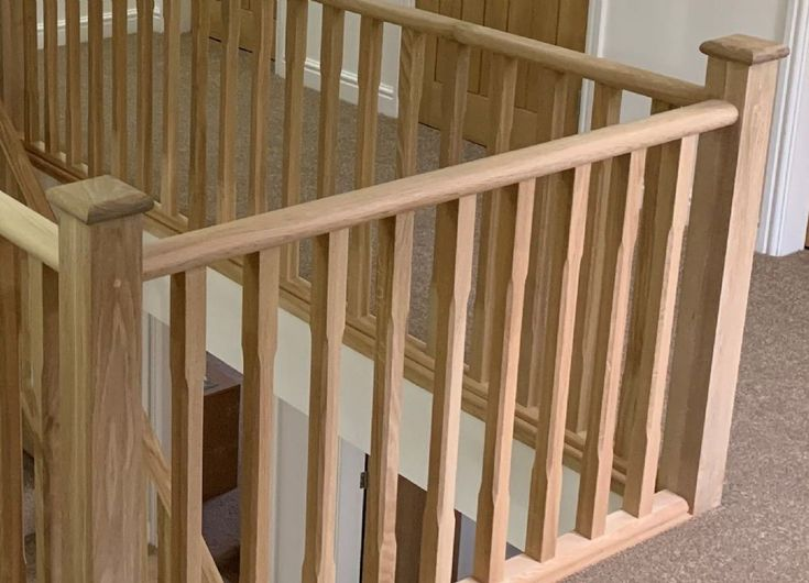 Best Solid White Oak Oval Handrail 41Mm Groove In 2020 Oak 400 x 300