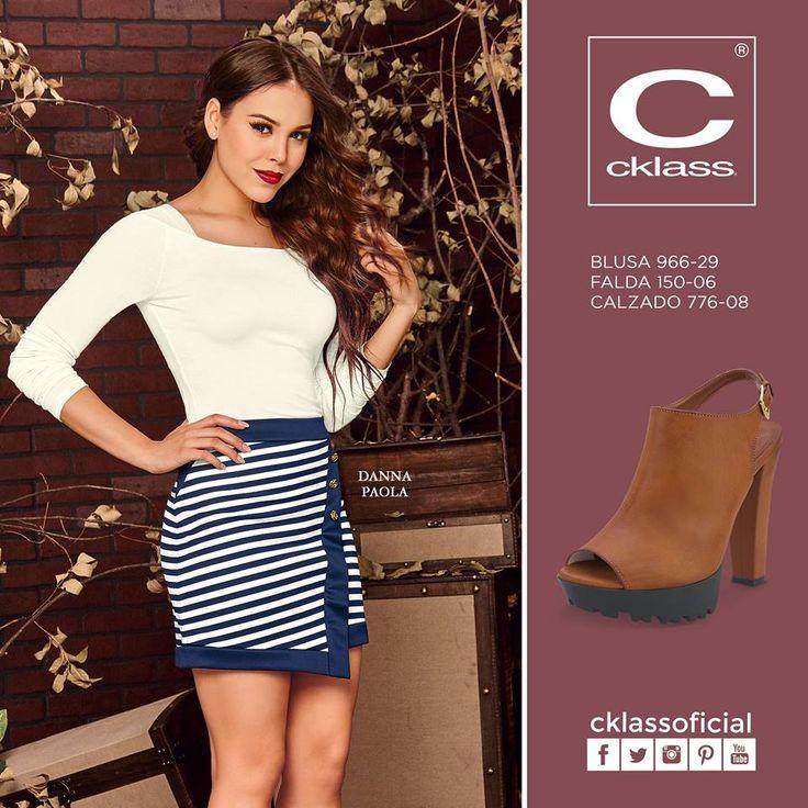 Atrae las miradas de todos luciendo grandiosa cada día con la variedad de ropa y calzado de la nueva colección otoño invierno de Cklass - Los mejores Catálogos de México  #cklass #moda #atrae #falda #tacones https://www.facebook.com/cklassoficial?fref=ts