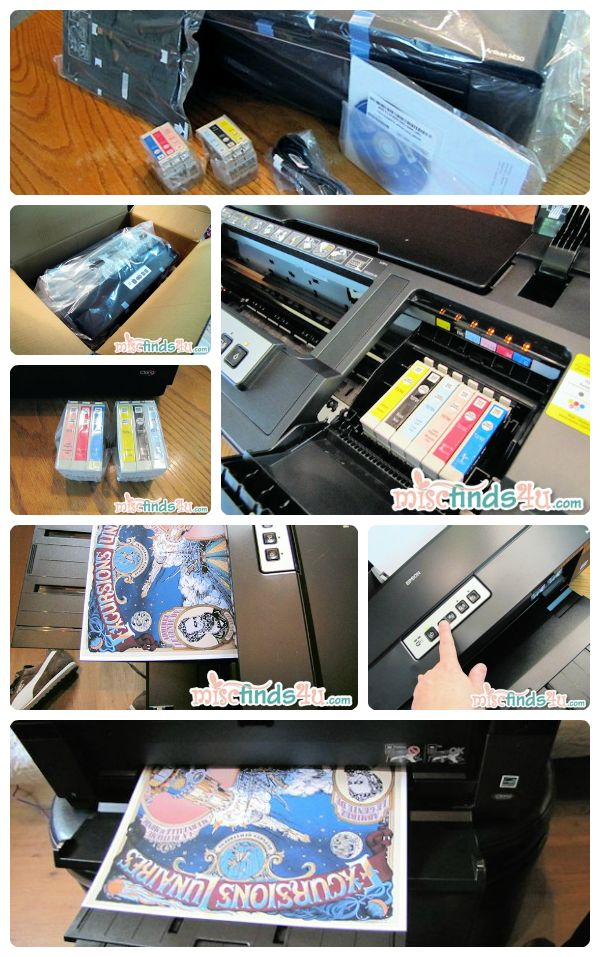 Epson Artisan 1430 Wide-format Color Printer