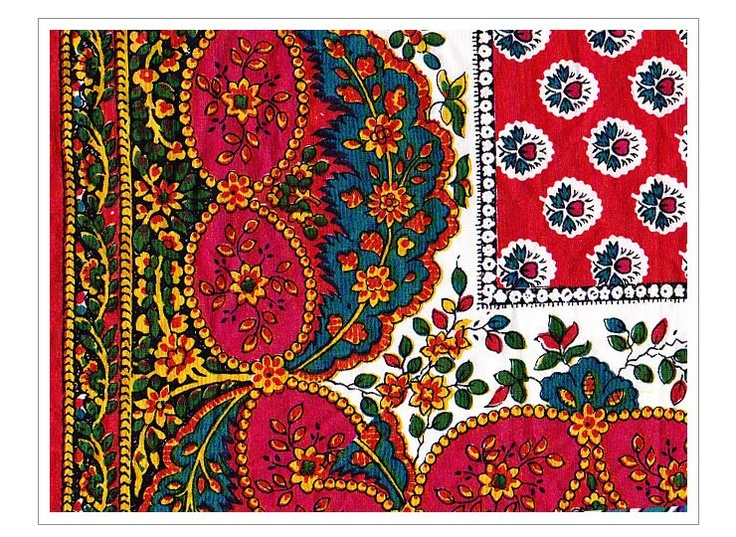 antique provencal souleiado print i have this scarf in my collection on. Black Bedroom Furniture Sets. Home Design Ideas
