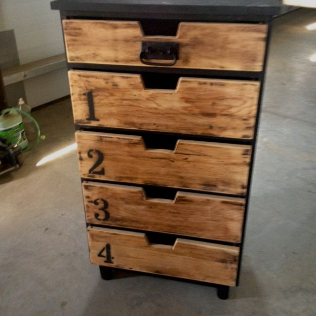 industrial dresser diy for the home pinterest