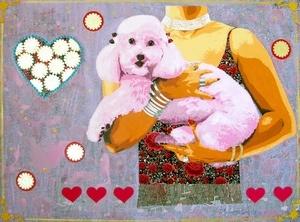 Artprice Auction Lot : Colinho (The lapdog) [Raquel GRALHEIRO]