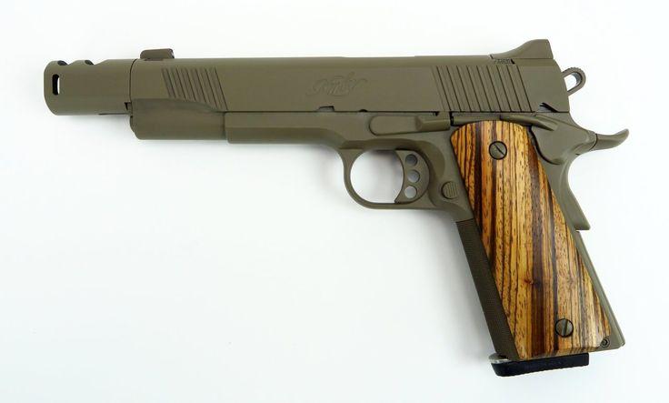 "badger-actual: "" Kimber Custom TLE II, .460 Rowland """