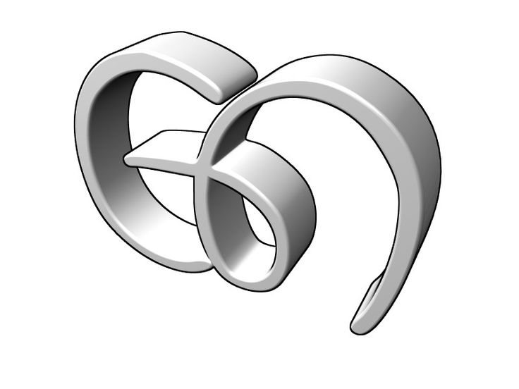 3D Logo Generator - make a 3D logo from a 2D sketch
