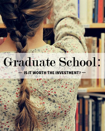When Does Real World Experience Outweigh the Benefits of Graduate School?
