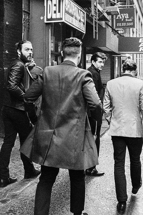 Arctic Monkeys, I am liking Nick' s beard!!