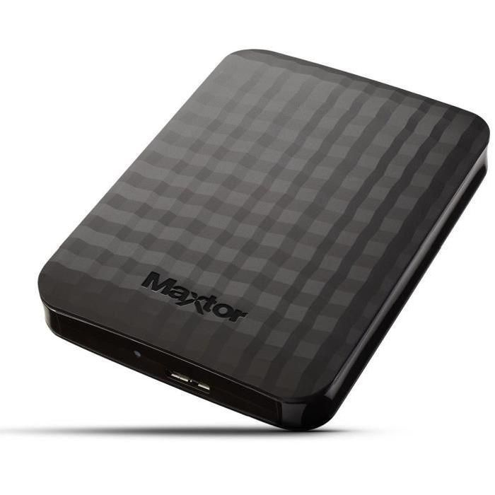 "Maxtor M3 Portable 500GB 2.5"" USB 3.0 - STSHX-M500TCBM"