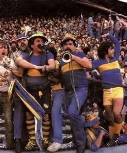 Boca gritando el gol en la san martin metro 1981