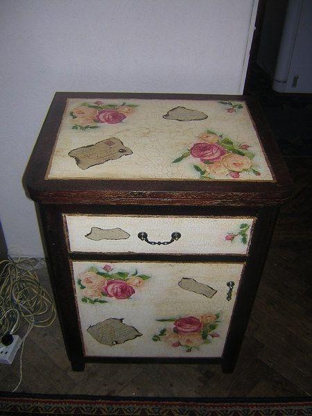 Как превратить старую тумбочку в изюминку интерьера - Ярмарка Мастеров - ручная работа, handmade