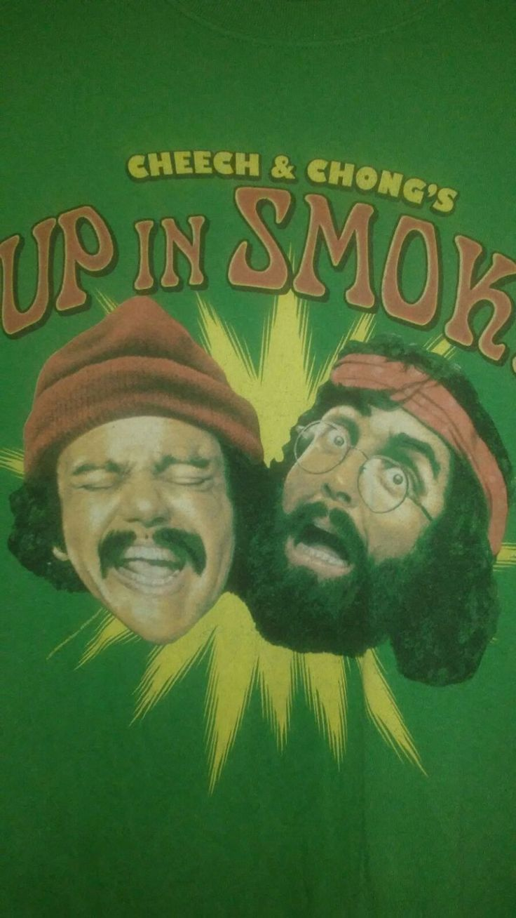 Cheech chongs shrit in 2020 movies up in smoke poster