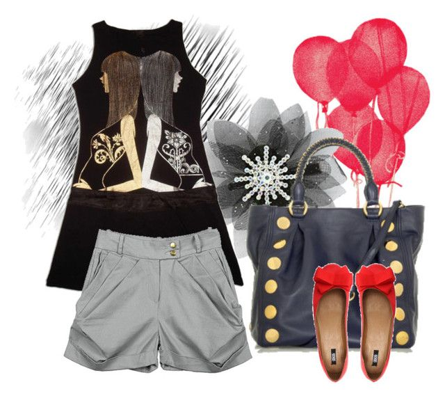 Untitled by nadinealmshhdany on Polyvore featuring polyvore fashion style Preen ASOS Miu Miu Built by Wendy Betsey Johnson